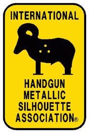 Handgun Metallic Silhouette